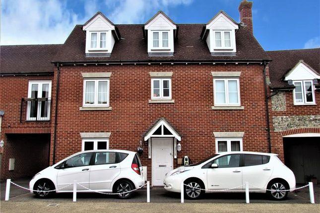Link-detached house for sale in Cobham Road, Blandford Forum