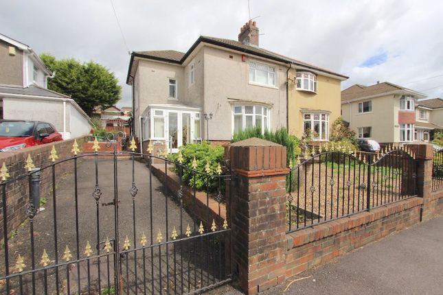 Thumbnail Semi-detached house for sale in Gilfach Road, Tonyrefail -, Porth