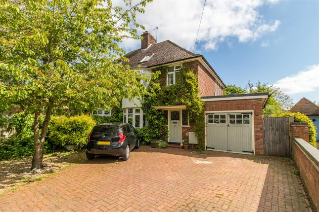 Thumbnail Semi-detached house for sale in Green Lane, Letchworth Garden City