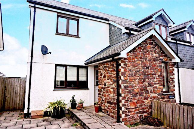 Thumbnail End terrace house for sale in Churchtown, Wadebridge