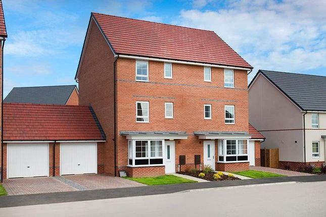 "Thumbnail Semi-detached house for sale in ""Hythe"" at Station Road, Methley, Leeds"