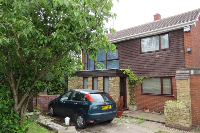 4 bed link-detached house for sale in Raven Road, Walsall