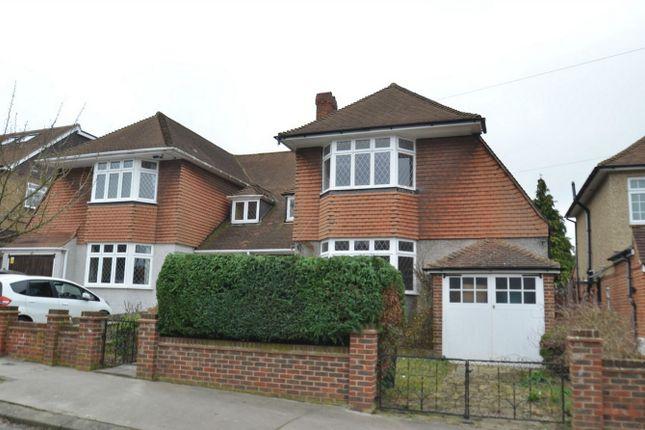 Thumbnail Semi-detached house for sale in Eversley Way, Shirley, Croydon, Surrey