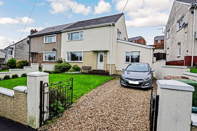 Thumbnail Semi-detached house for sale in Brynavon Houses, Brynavon Terrace, Hengoed