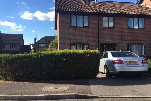 Thumbnail End terrace house to rent in Knollmead Road, Reading