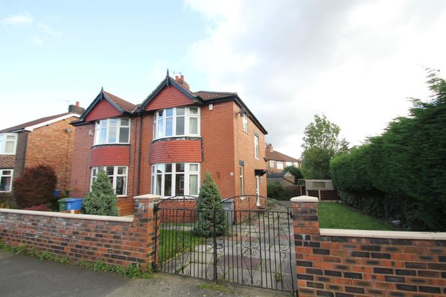Thumbnail Semi-detached house to rent in Belford Road, Stretford, Manchester