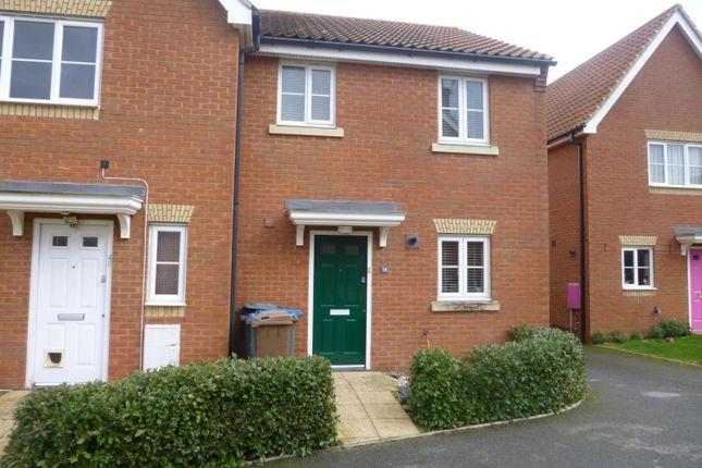 Thumbnail Semi-detached house to rent in Jennings Drift, Kesgrave, Ipswich