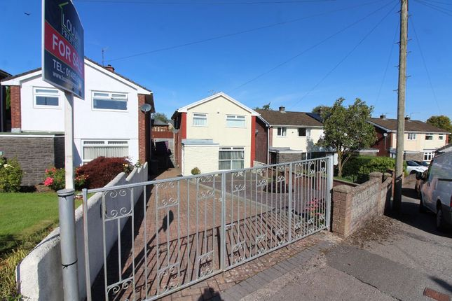 Thumbnail Detached house for sale in Martindale Close, Tredegar