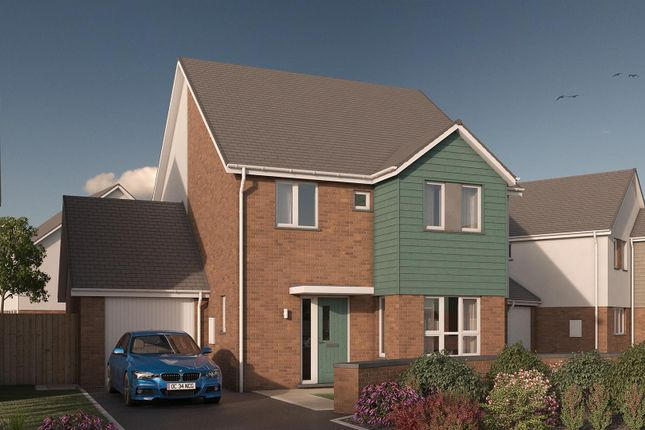 Thumbnail Detached house for sale in Highgrove, Roundswell, Barnstaple