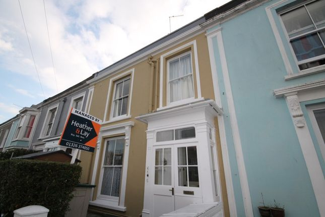Thumbnail Flat to rent in Clare Terrace, Falmouth