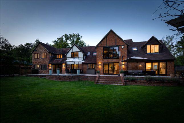 Thumbnail Detached house for sale in Earleydene, Ascot, Berkshire