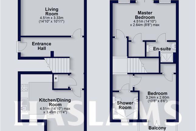 Floor Plan of Home Court, London Street, Reading RG1