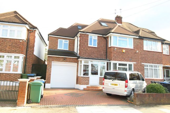Thumbnail Semi-detached house for sale in Crundale Avenue Crundale Avenue, Kingsbury