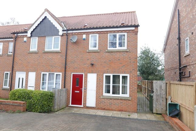 Thumbnail Terraced house to rent in Foss Court, York, North Yorkshire