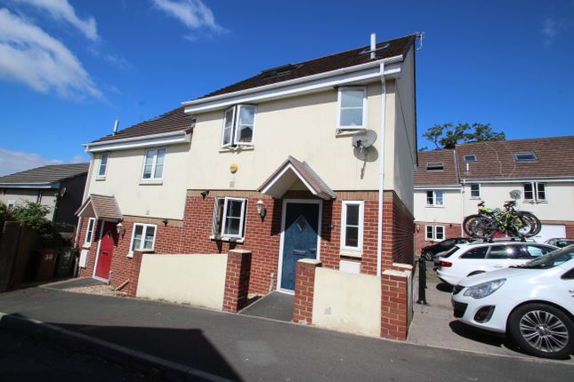 Thumbnail Semi-detached house to rent in Mount Tamar Close, Plymouth