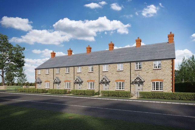 Thumbnail End terrace house for sale in Castle Street, Marsh Gibbon, Bicester