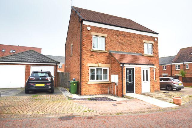 Thumbnail Semi-detached house for sale in 15 Barnwell View, Herrington Burn