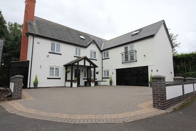 Thumbnail Detached house for sale in Carriage Close, Hale Village, Liverpool