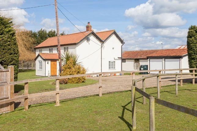 Thumbnail Detached house for sale in Woodrow Lane, Great Moulton, Norwich