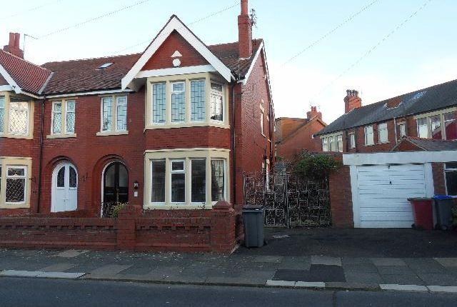 Thumbnail Semi-detached house to rent in Kenwyn Ave, Blackpool