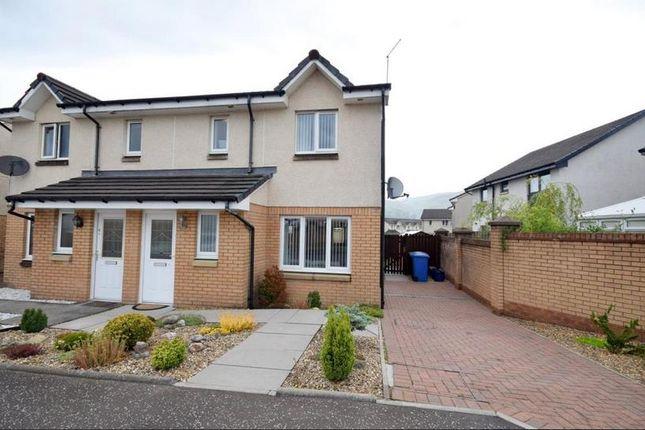 Thumbnail Semi-detached house to rent in Chestnut Lane, Tullibody, Stirling