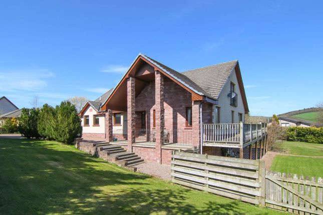 Thumbnail Detached house for sale in Baileyfields, Justice Park, Oxton, Lauder