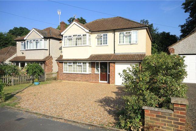 Thumbnail Detached house for sale in Franklands Drive, Addlestone, Surrey