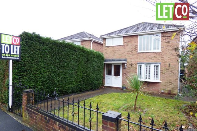 Thumbnail Detached house to rent in Hollam Drive, Fareham
