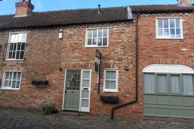 Thumbnail Terraced house to rent in Bannister Court, Back Lane, Easingwold