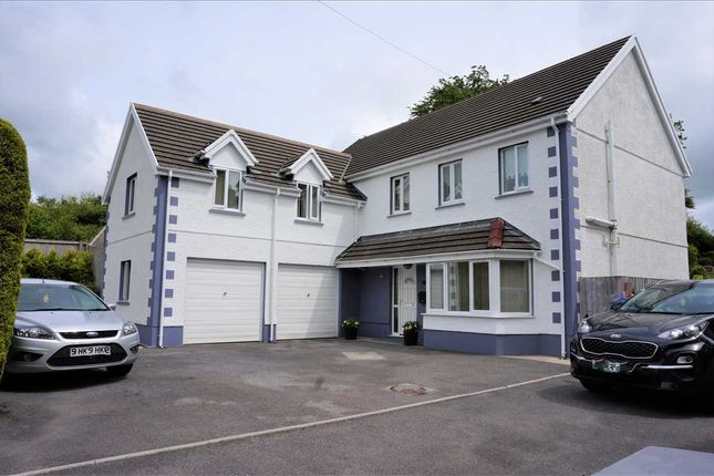 5 bed detached house for sale in Carmarthen Road, Cross Hands, Llanelli SA14