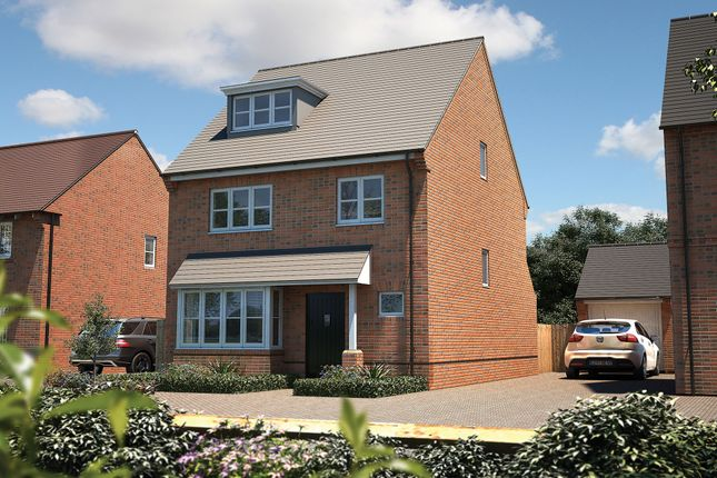 "Thumbnail Detached house for sale in ""The Hemsley"" at Pershore Road, Evesham"