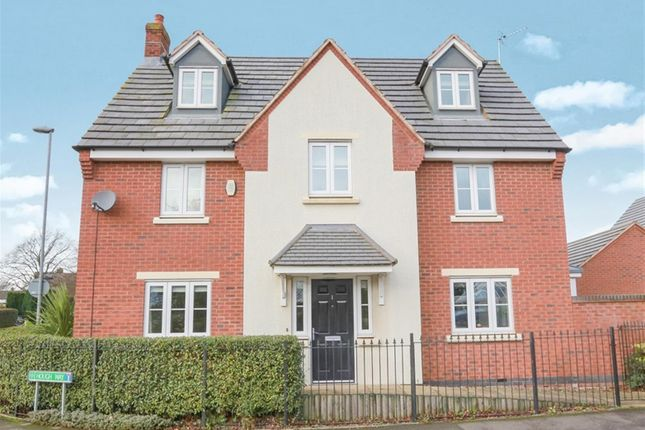 Thumbnail Detached house for sale in Hough Way, Strawberry Fields, Essington, Wolverhampton