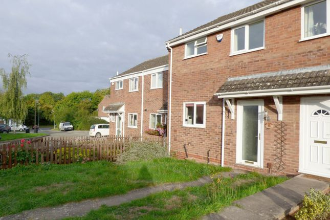 Thumbnail Terraced house to rent in Oldbury Close, Church Hill North, Worcestershire