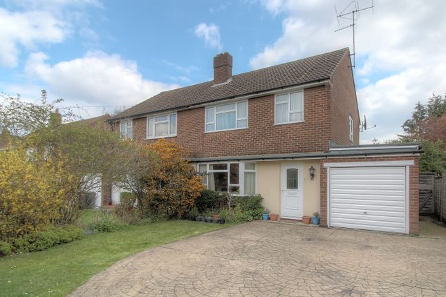 Thumbnail Semi-detached house for sale in Lordship Lane, Letchworth Garden City