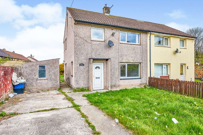 3 bed semi-detached house for sale in Wasdale Close, Whitehaven, Cumbria CA28