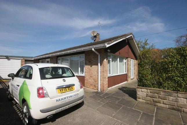 Thumbnail Detached bungalow to rent in Hollins Lane, Hampsthwaite, Harrogate