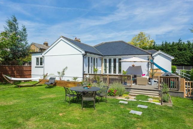 Thumbnail Detached bungalow for sale in Brentwood Road, Ingrave, Brentwood, Essex