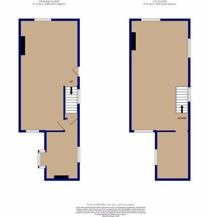 Floorplan of Cedar Street, Accrington BB5