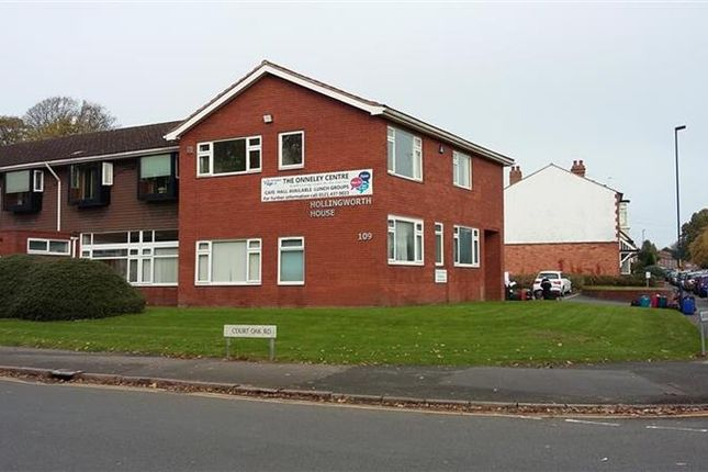 Thumbnail Office to let in 109 Court Oak Road, Birmingham, West Midlands