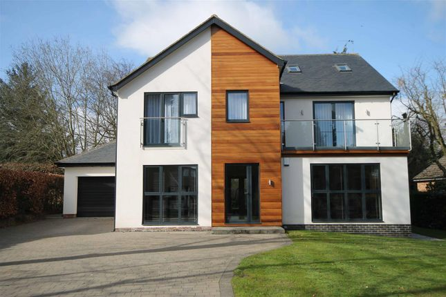 Thumbnail Detached house for sale in Whinfell Road, Darras Hall, Newcastle Upon Tyne, Northumberland