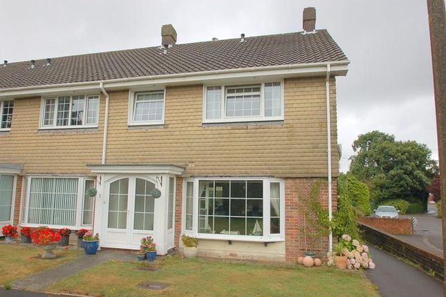 Thumbnail End terrace house for sale in Lodge Gardens, Alverstoke, Gosport