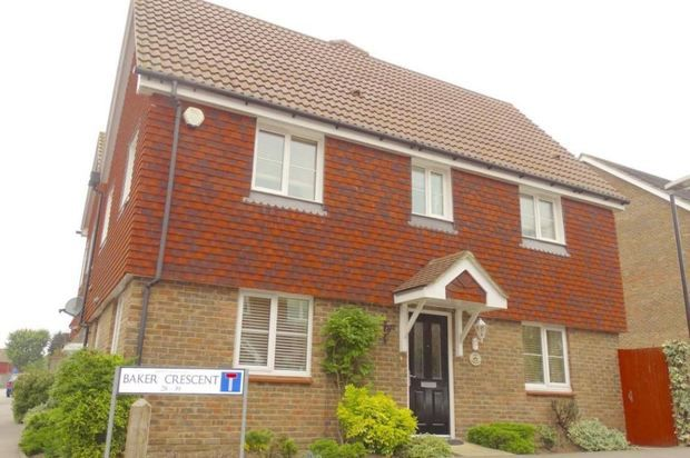 Thumbnail Semi-detached house to rent in Baker Crescent, Dartford