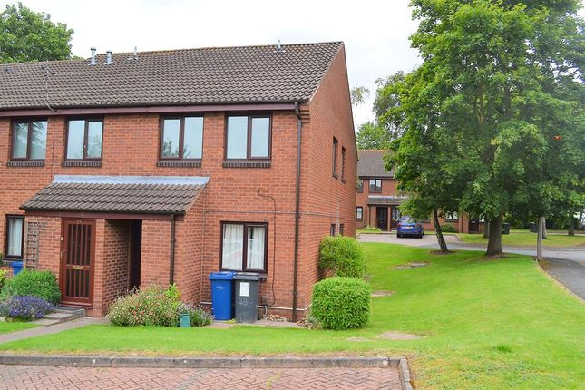 Thumbnail Maisonette for sale in Bloomsbury Way, Lichfield