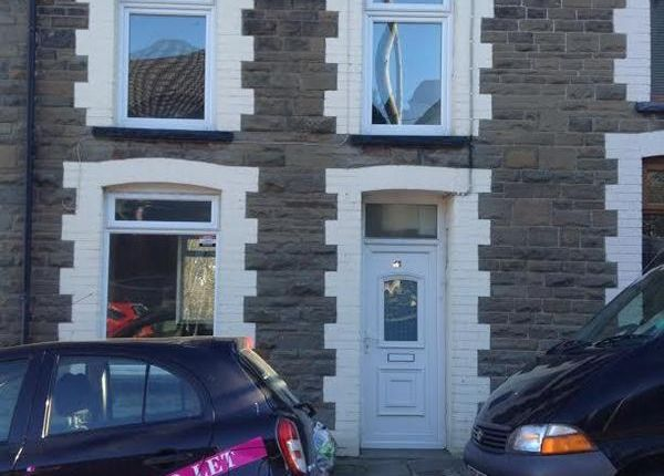 Thumbnail Terraced house to rent in Conway Road, Cwmparc, Treorchy