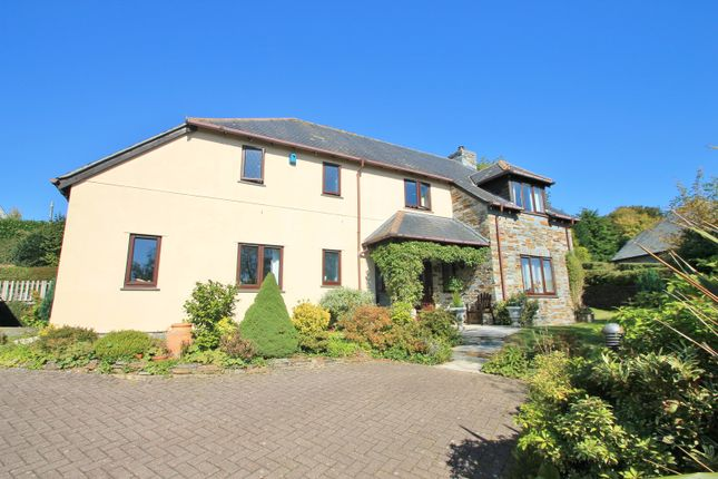 Thumbnail Detached house for sale in Dunstan Lane, St Mellion, Saltash