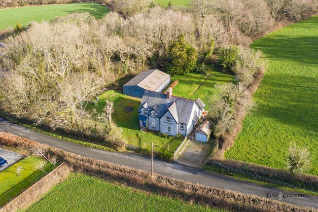 Thumbnail Detached house for sale in Picton House, The Rhos, Haverfordwest, Pembrokeshire