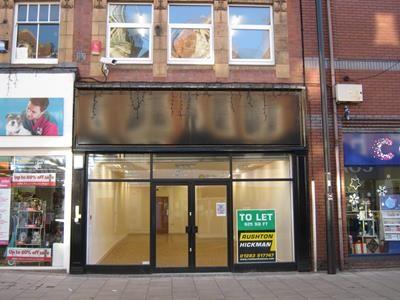 Thumbnail Retail premises to let in Station Street, Burton Upon Trent, Staffordshire
