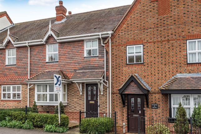 Thumbnail Town house to rent in Station Road, Kintbury, Hungerford
