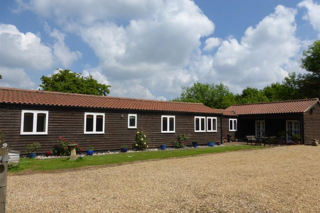Thumbnail Bungalow to rent in Little Melton Road, Beckhithe, Norwich