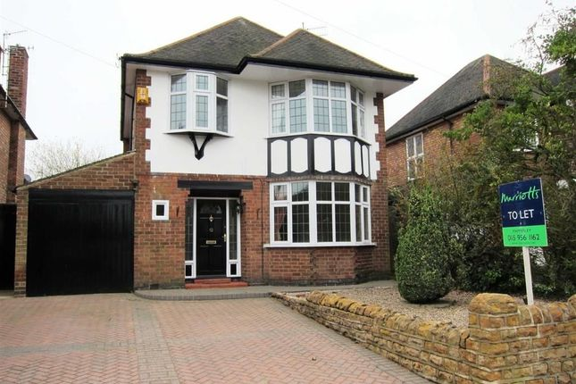 Thumbnail Detached house to rent in Patterdale Road, Woodthorpe, Nottingam